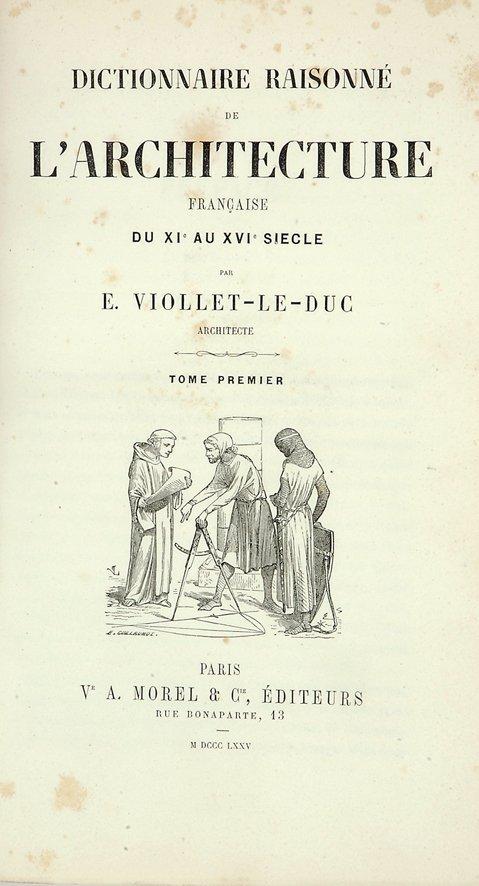 1892: Le Duc, Viollet E.