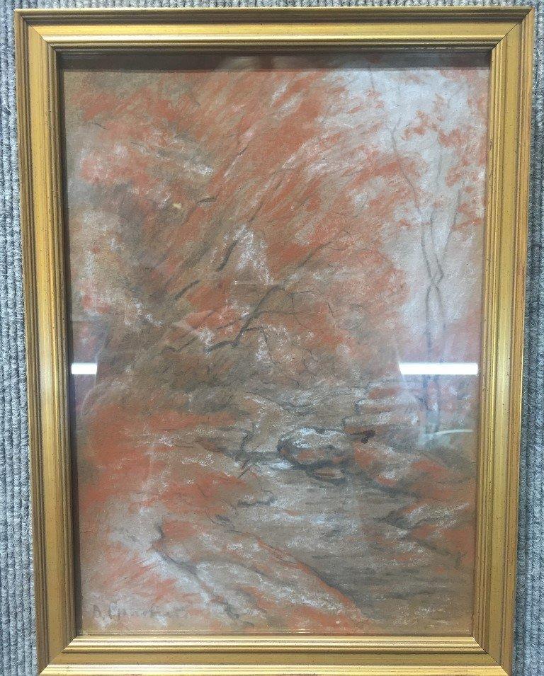 Landscape drawing by V.Orlovski-Ambassador