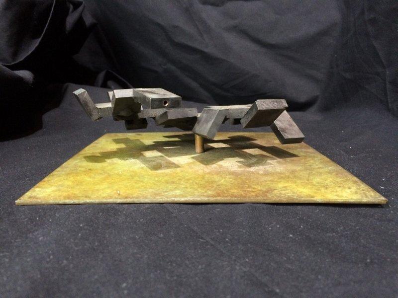 "Bronze sculpture, ""Cubes"", c.1965 - 5"