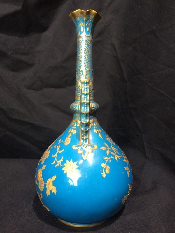 Royal Crown Derby vase retailed by J.E.Caldwell, c.1880 - 2
