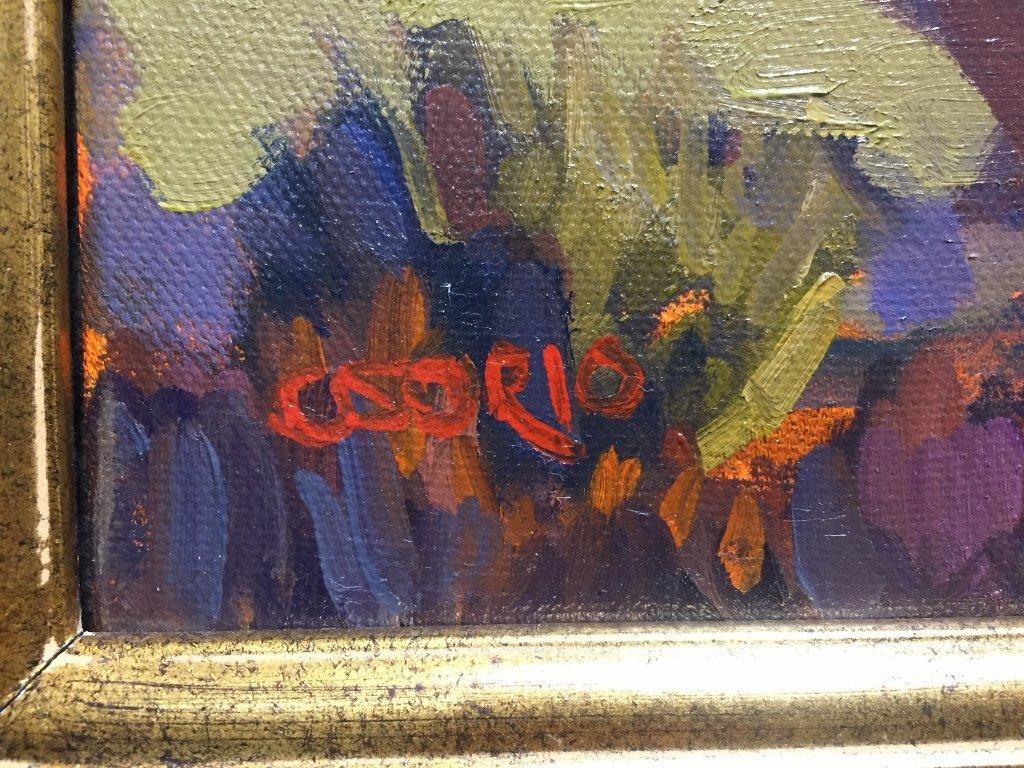 """California impressionist painting, signed """"Orsorio"""". - 3"""