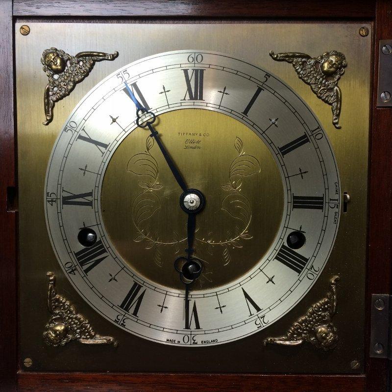 "Tiffany & Co mantel clock, ""Elliot London"". - 3"