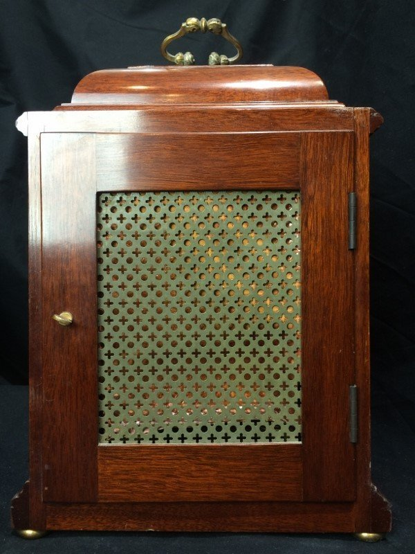 "Tiffany & Co mantel clock, ""Elliot London"". - 6"