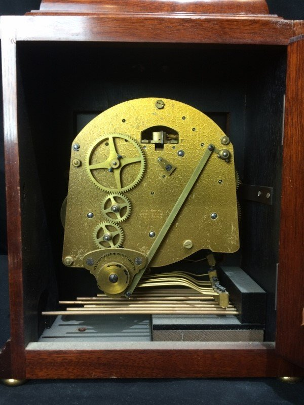 "Tiffany & Co mantel clock, ""Elliot London"". - 7"