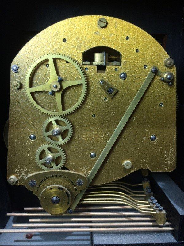 "Tiffany & Co mantel clock, ""Elliot London"". - 9"