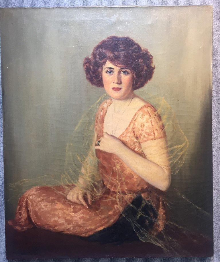 Portrait by John Campbell Phillips, c.1920
