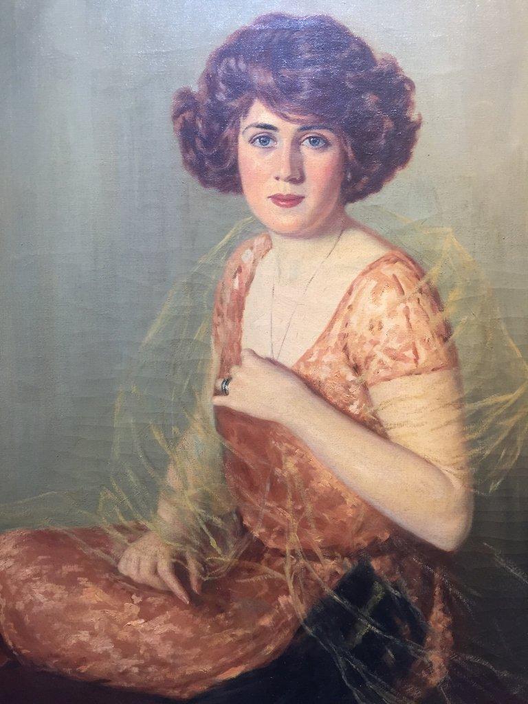 Portrait by John Campbell Phillips, c.1920 - 2