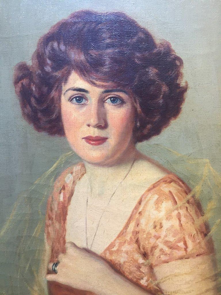 Portrait by John Campbell Phillips, c.1920 - 3