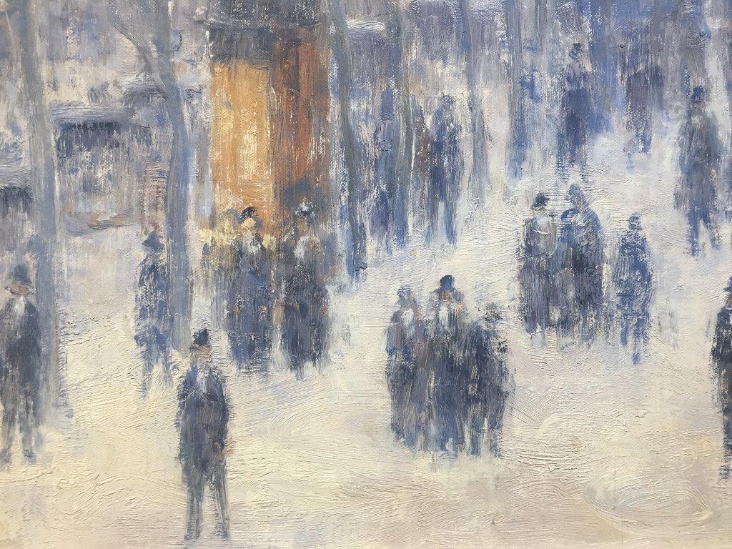 Painting of Paris by Gail Sherman Corbett, 20th c. - 4