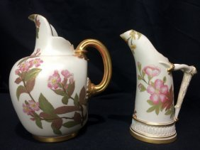 Box lot-Two Royal Worcester items