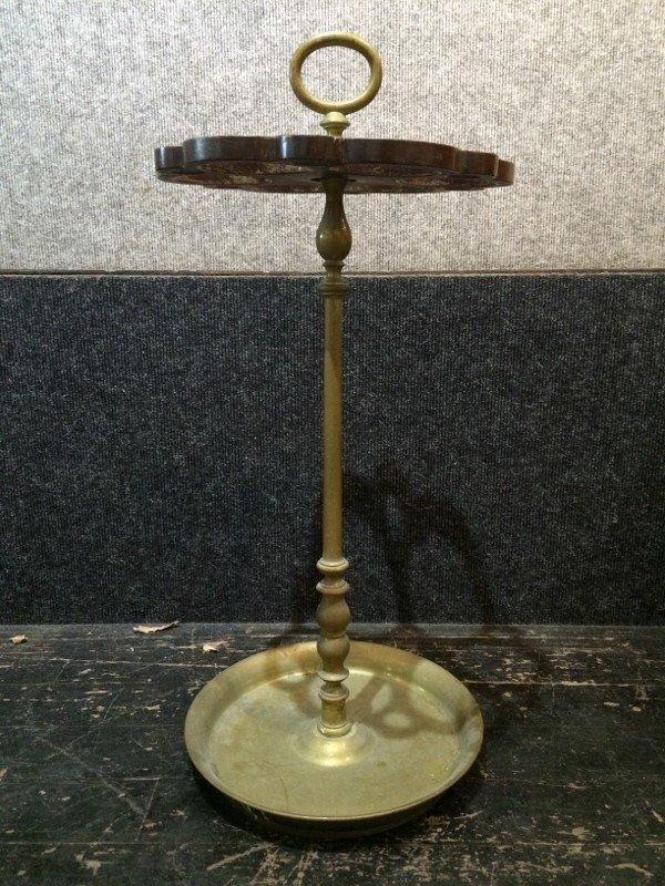Brass umbrella stand - 2