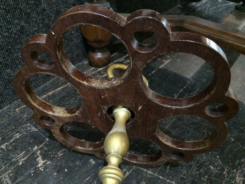 Brass umbrella stand - 4