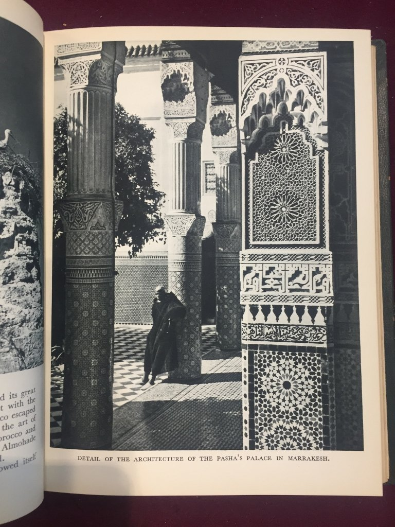"""Box lot-Book:""""Morocco"""",170 photos by Miege, c.1947 - 5"""