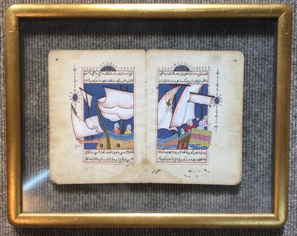 Pair of Indian or Persian watercolors