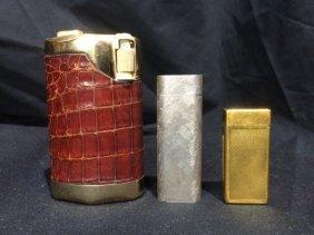 Box lot-3 Lighters, incl Dunhill & Cartier