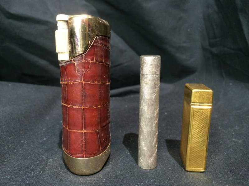 Box lot-3 Lighters, incl Dunhill & Cartier - 2