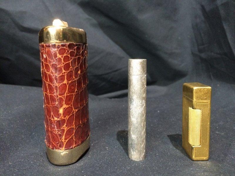 Box lot-3 Lighters, incl Dunhill & Cartier - 4
