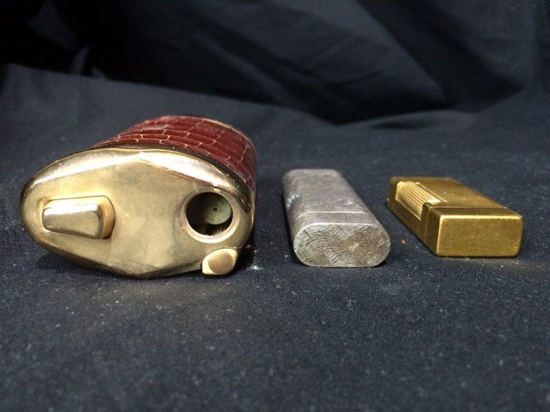Box lot-3 Lighters, incl Dunhill & Cartier - 5