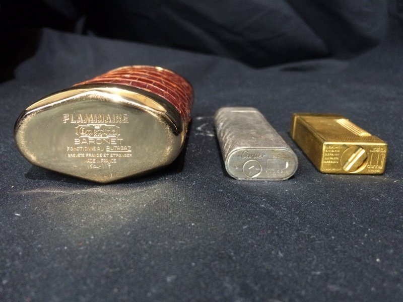 Box lot-3 Lighters, incl Dunhill & Cartier - 6