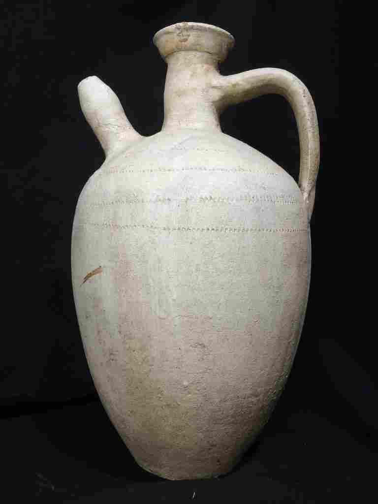 Chinese white vessel-ceramic