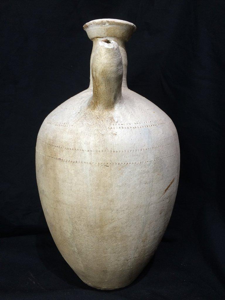 Chinese white vessel-ceramic - 4