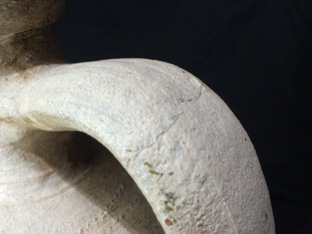 Chinese white vessel-ceramic - 9