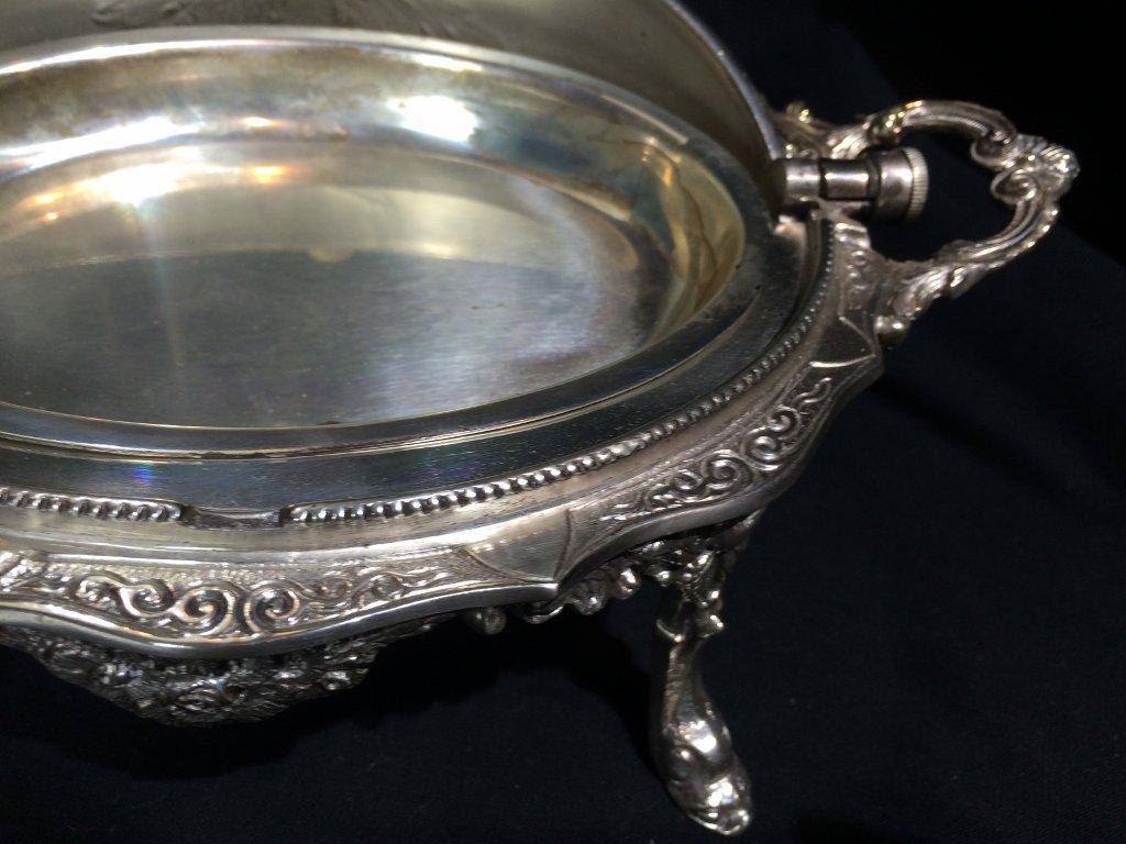 Victorian silverplate food warmer - 10