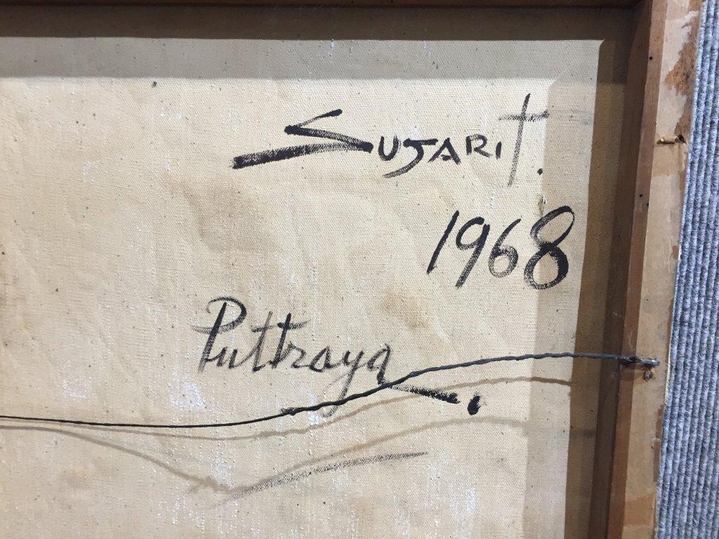 Painting of Puttaya by Sujarit Hirankul(Thai 1946-1982) - 5