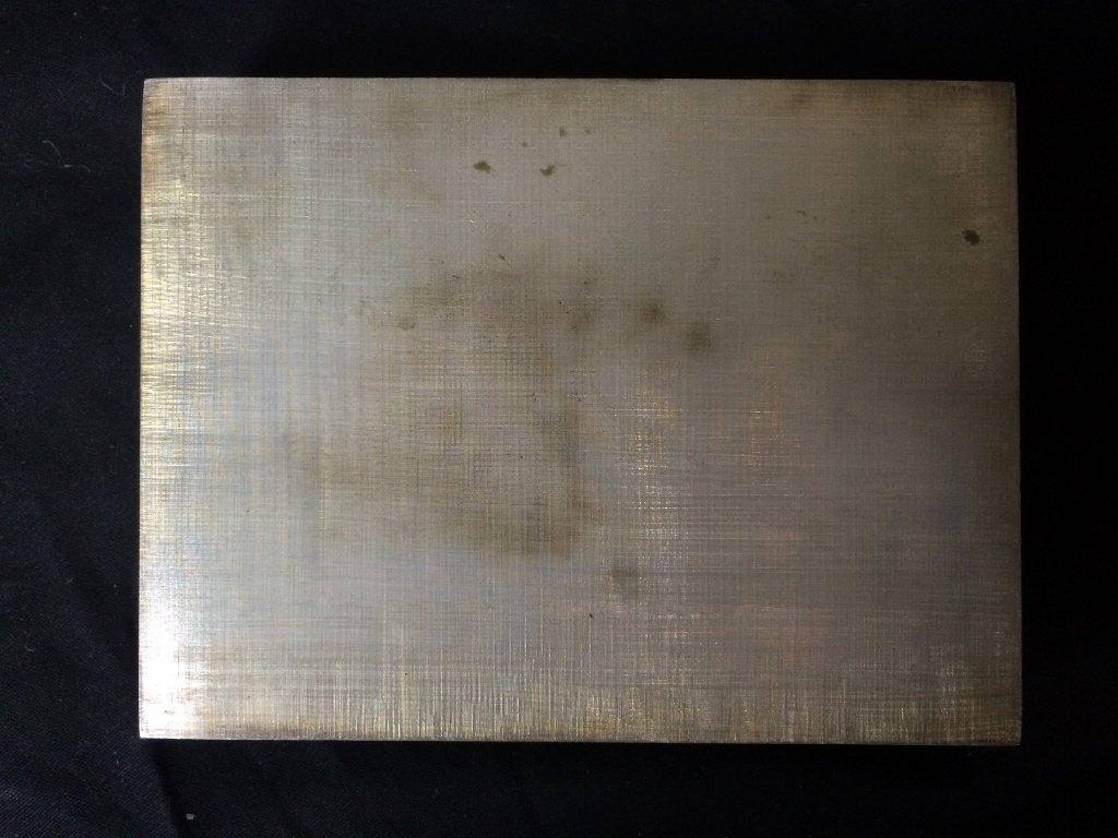 Buccellati silver box-original box, 7.7 t. oz - 3