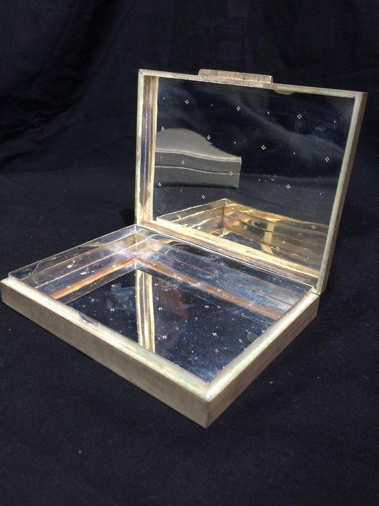 Buccellati silver box-original box, 7.7 t. oz - 7