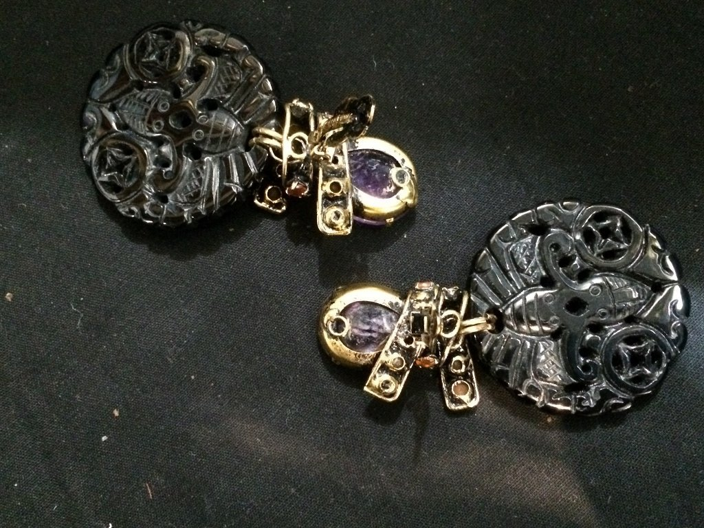Pair of earrings by Iradj Moini - 5