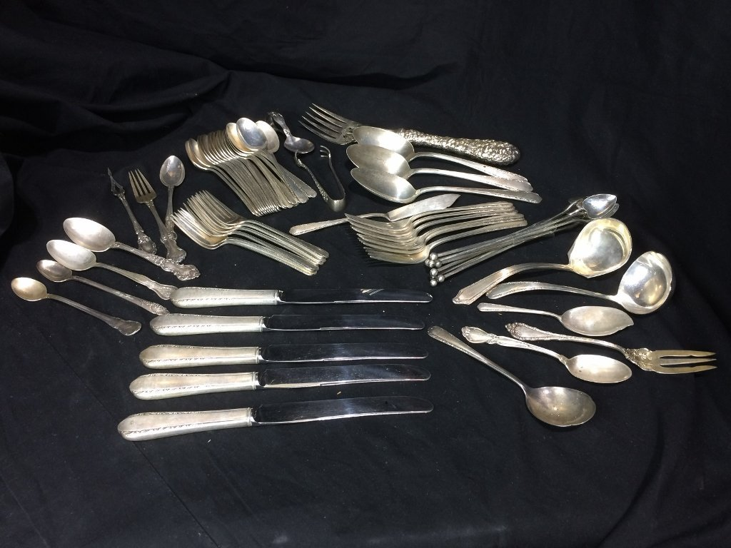 Sterling silver flatware, 53 t. oz
