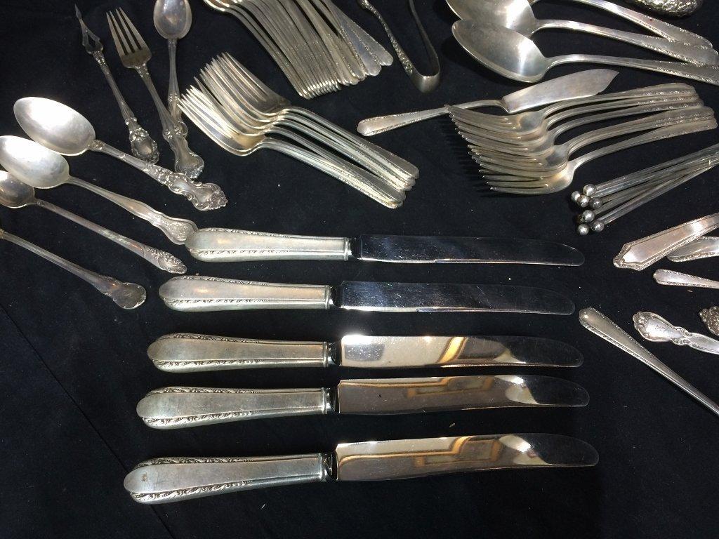 Sterling silver flatware, 53 t. oz - 5
