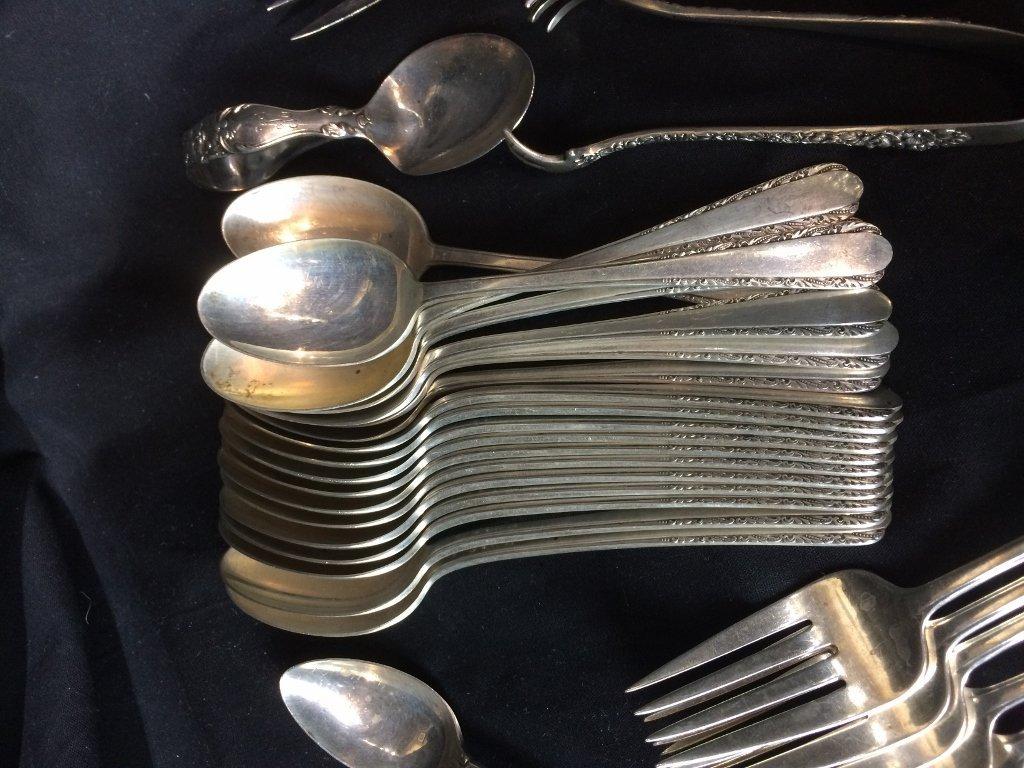 Sterling silver flatware, 53 t. oz - 6