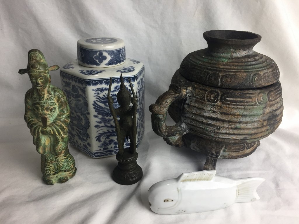 Miscellaneous 20th cent Asian items