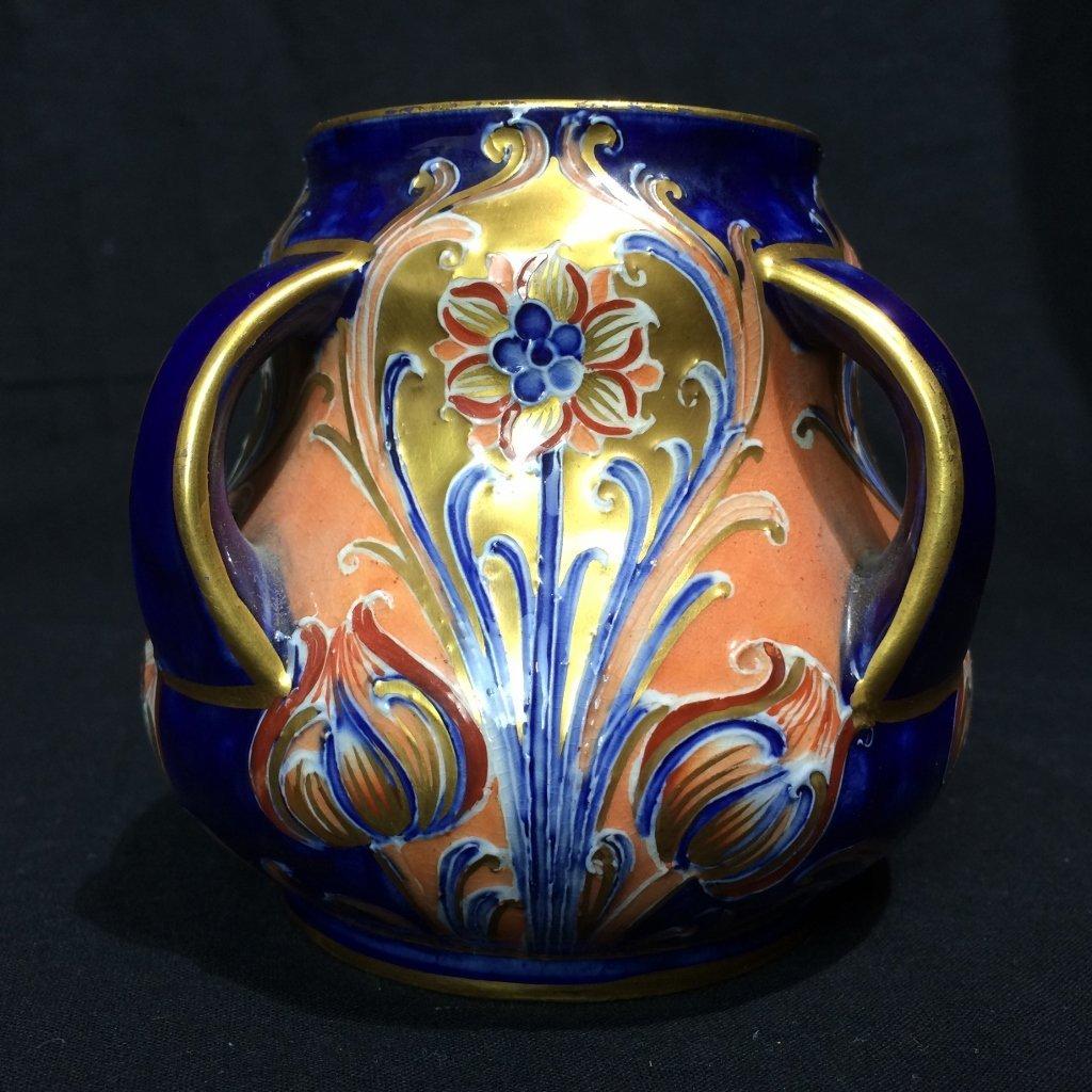 English Art Nouveau small vase-Macintyre, Burslem