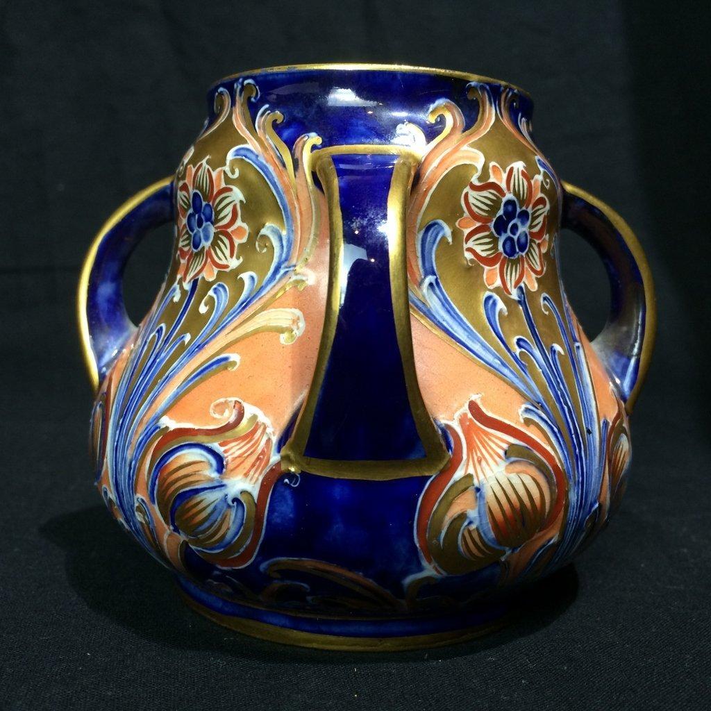 English Art Nouveau small vase-Macintyre, Burslem - 2