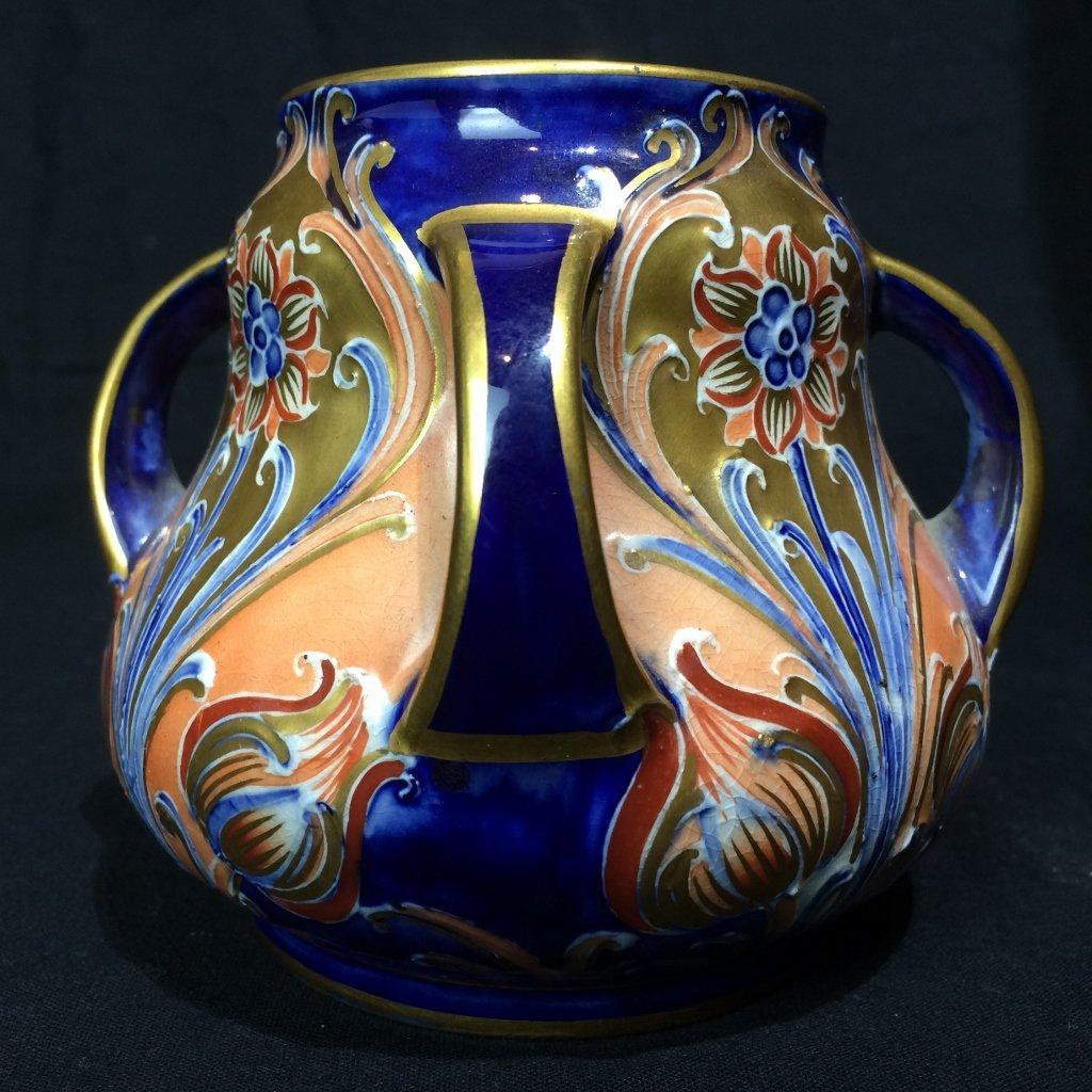 English Art Nouveau small vase-Macintyre, Burslem - 4