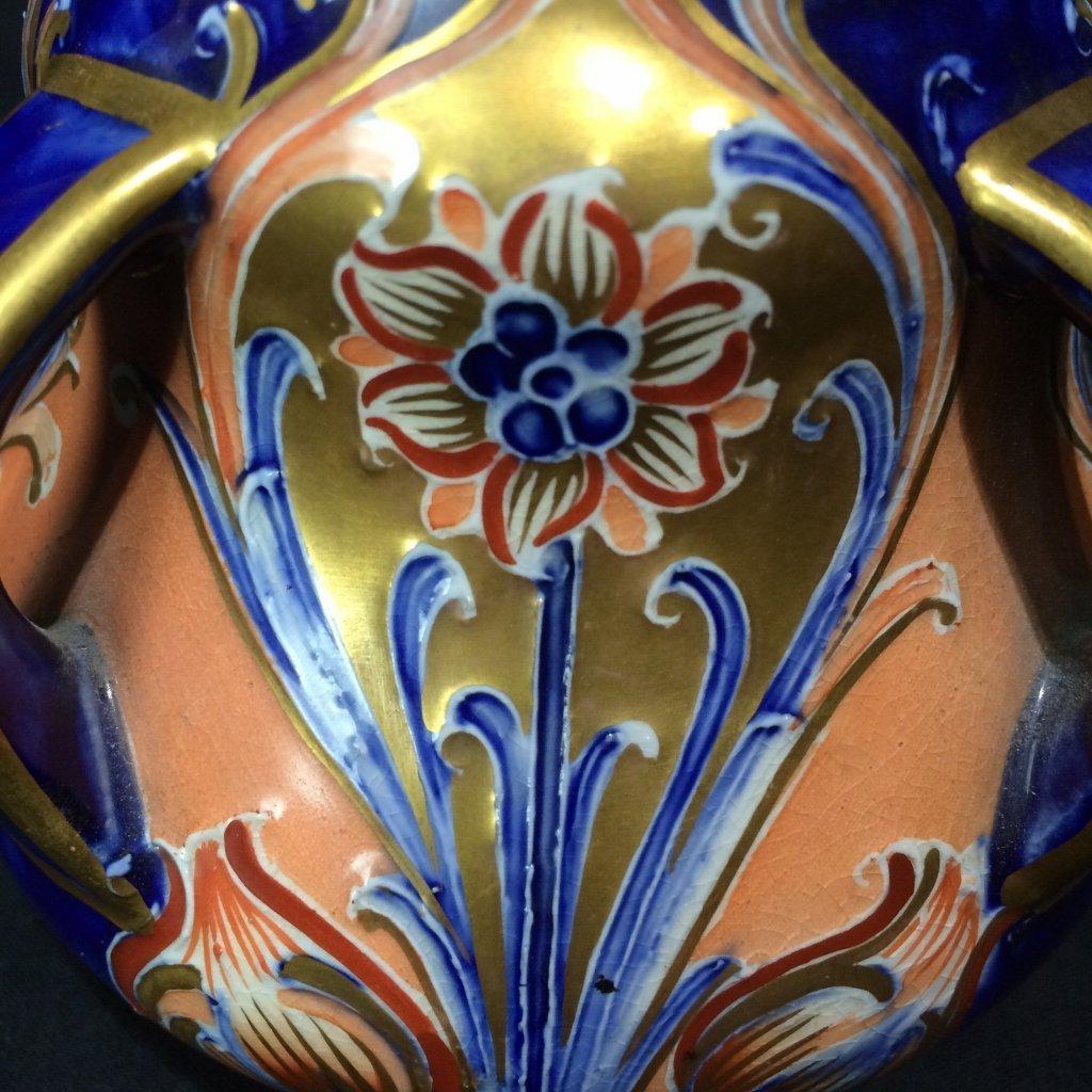 English Art Nouveau small vase-Macintyre, Burslem - 8
