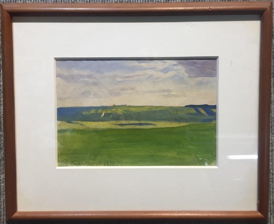 Watercolor by Zinaida Serebryakova, Ambassador Estate