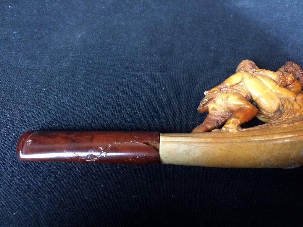 Meerschaum pipe-erotica - 7