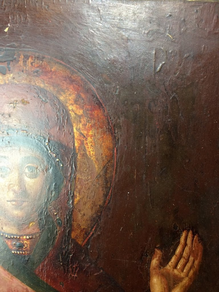 Russian Icon on wood - 10