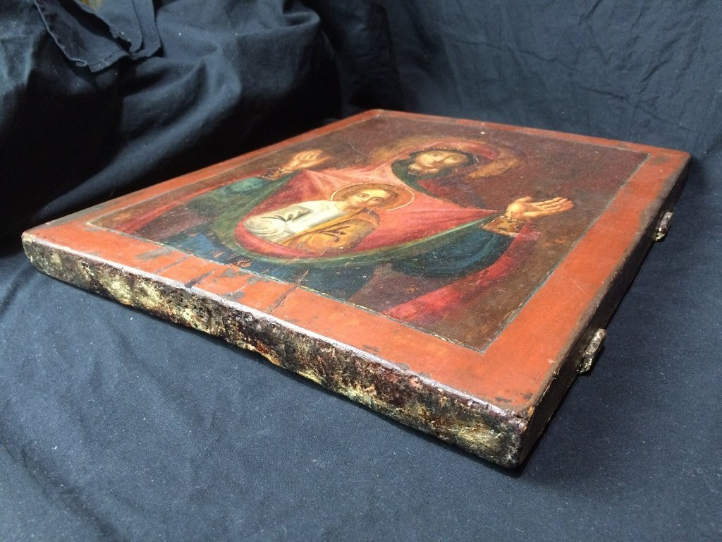 Russian Icon on wood - 6