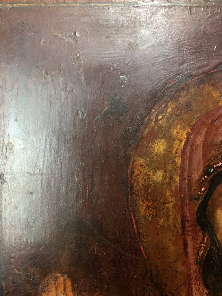 Russian Icon on wood - 9