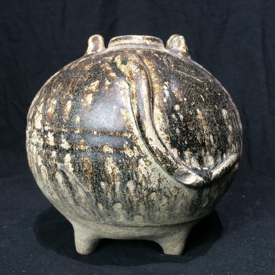 Early Cambodian ceramic pot-Angkor - 3