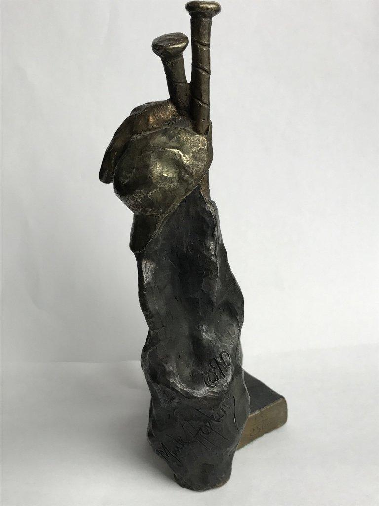 Baseball bronze by Mark Hopkins - 2