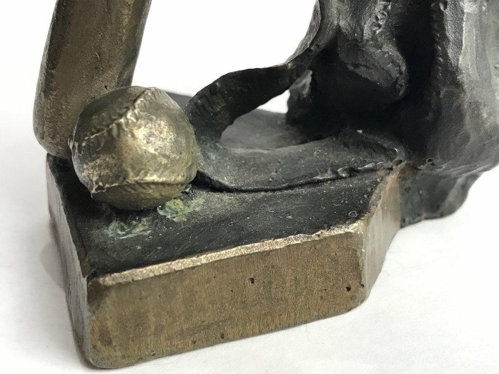 Baseball bronze by Mark Hopkins - 9