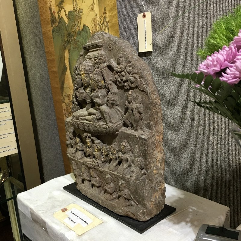 Nepalese carved stele, 17th century - 5