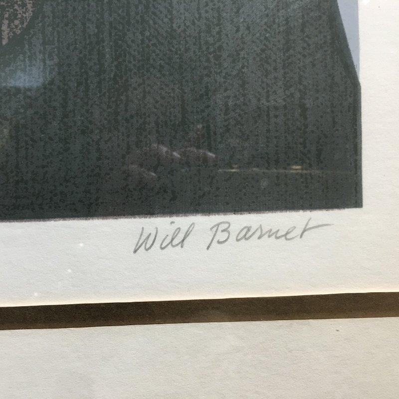 """Will Barnet lithograph, """"Summer Idyll"""" - 4"""