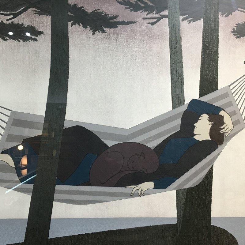 """Will Barnet lithograph, """"Summer Idyll"""" - 5"""